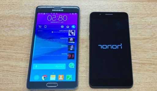 Samsung Galaxy Note 4 vs Huawei Honor 6 : le comparatif