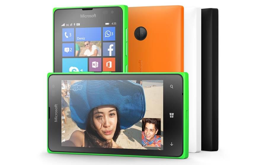Microsoft Lumia 435 et Microsoft Lumia 532
