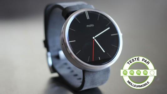 Test de la Motorola Moto 360 , la smartwatch de 2014