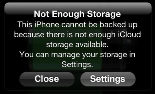 iPhone : un espace de stockage insuffisant ?