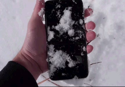 iPhone 6 Plus neige