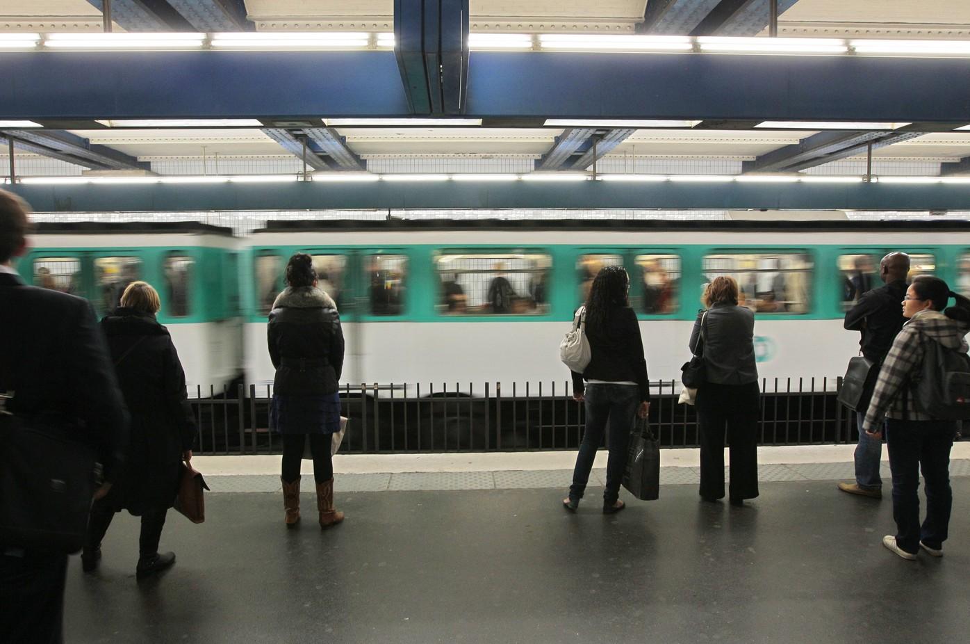 metro parisien ligne 4