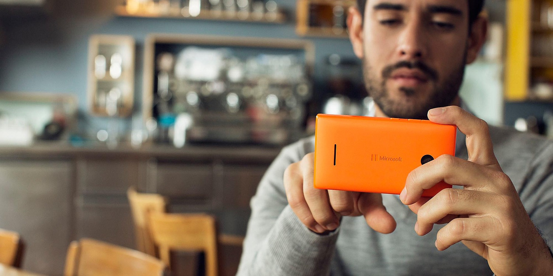 microsoft lumia 532 orange