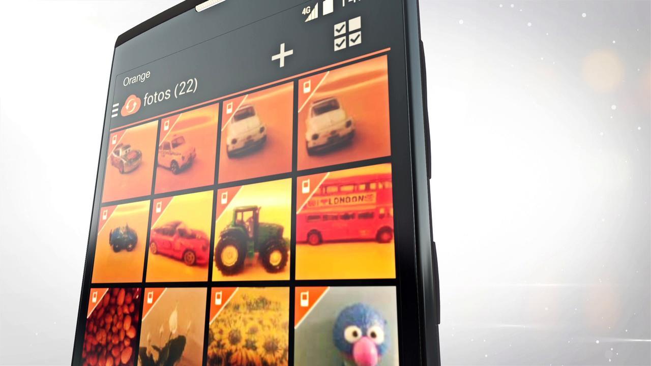 orange nura écran