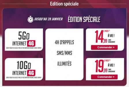 Virgin Mobile : des forfaits 4G � des prix exceptionnels !