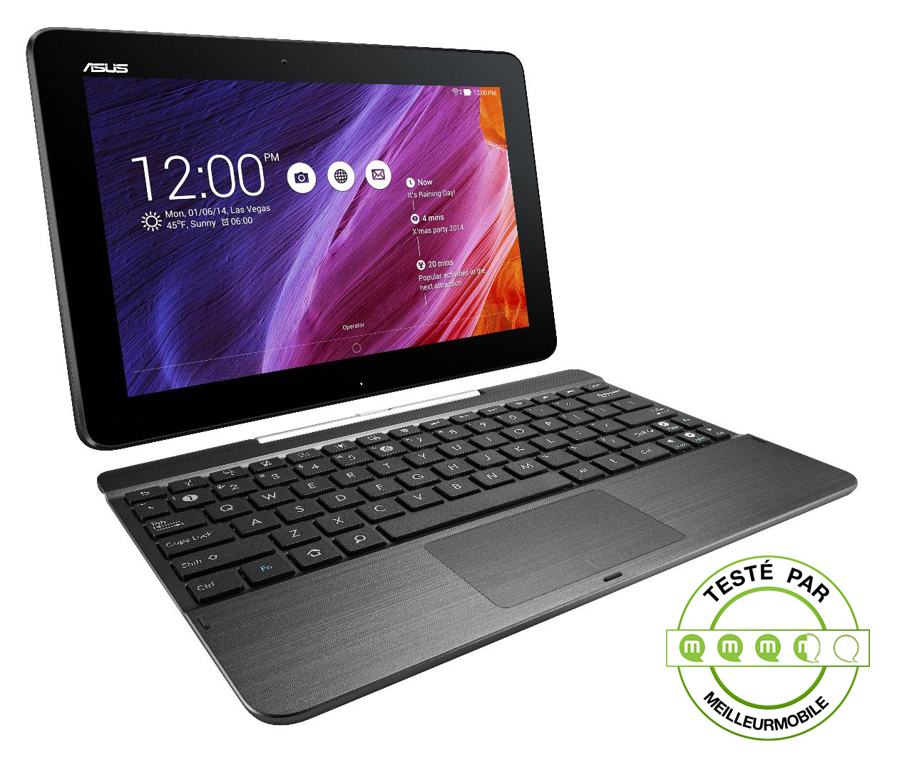 test asus transformer pad tf 103 une tablette hybride meilleur mobile. Black Bedroom Furniture Sets. Home Design Ideas