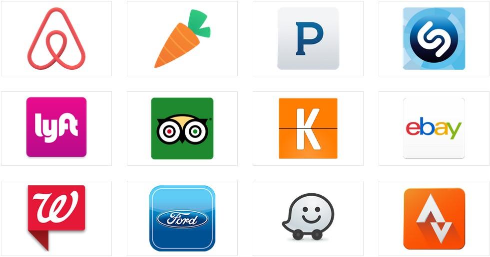 Google Now liste applications