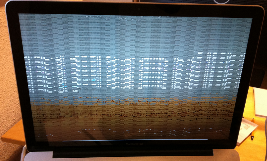 MacBook Pro écran pobleme