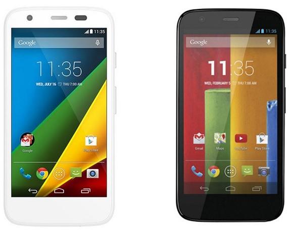 Motorola Moto 4G vs Moto G
