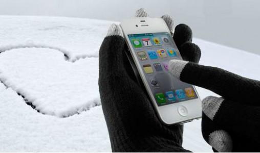 Les effets de l'hiver sur votre smartphone