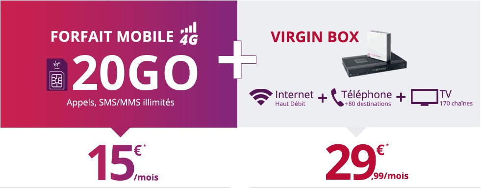 Virgin Box by SFR