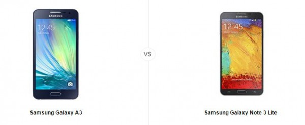 samsung galaxy a3 vs note 3 lite le comparatif meilleuractu. Black Bedroom Furniture Sets. Home Design Ideas