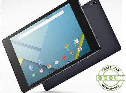 Test Google Nexus 9 , la tablette sous Android L