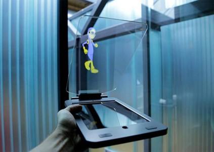 L'iPad Air peut faire appara�tre des hologrammes !