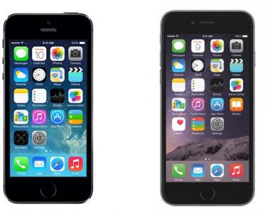 iphone 5s - iphone 6