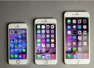 iphone différente taille