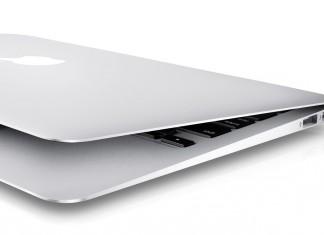 macbook air entre ouvert