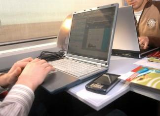 ordinateur dans train sncf