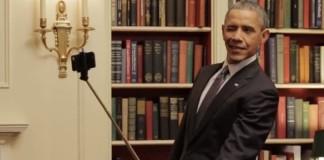 perche à selfie obama