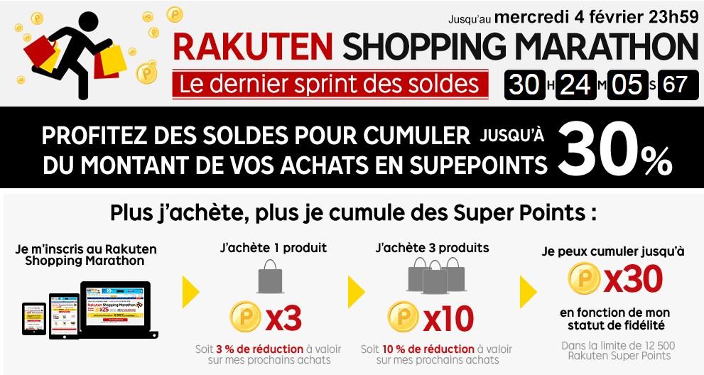 priceminister shopping marathon