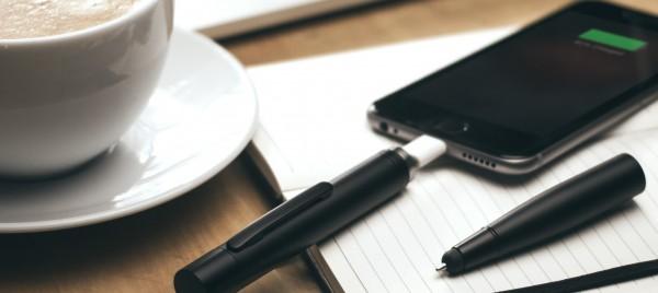 Rechargez votre smartphone avec votre stylo !