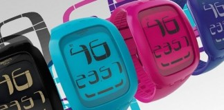 swatch montre connectée