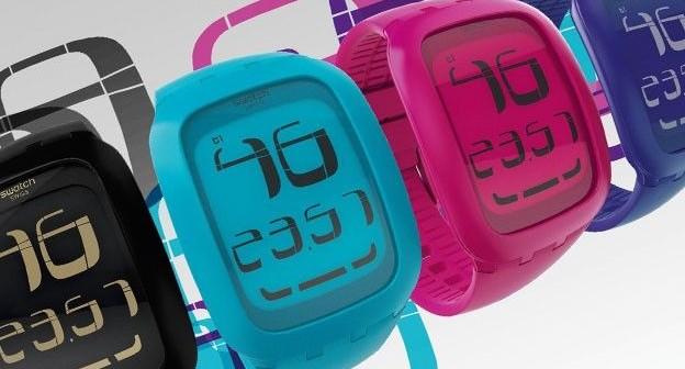 swatch montre connectée