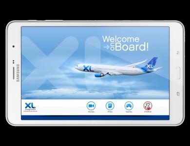 XL Airways, louer votre tablette Samsung pour 10 �