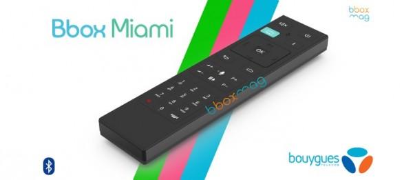 Bouygues Telecom Bbox Miami telecommande vocale