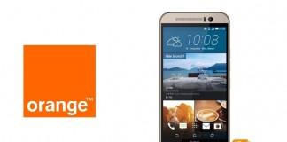 HTC ONE M9 Orange
