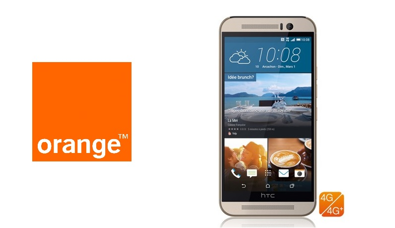 HTC ONE M9 Orange