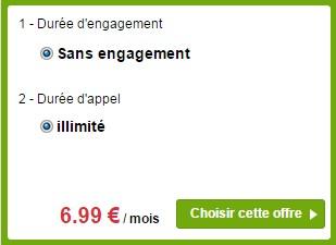 La Poste Mobile 24h/24 illimité Sans engagement