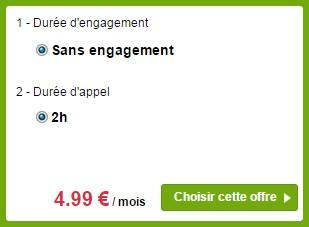 Sosh SMSMMS- 2h Sans engagement
