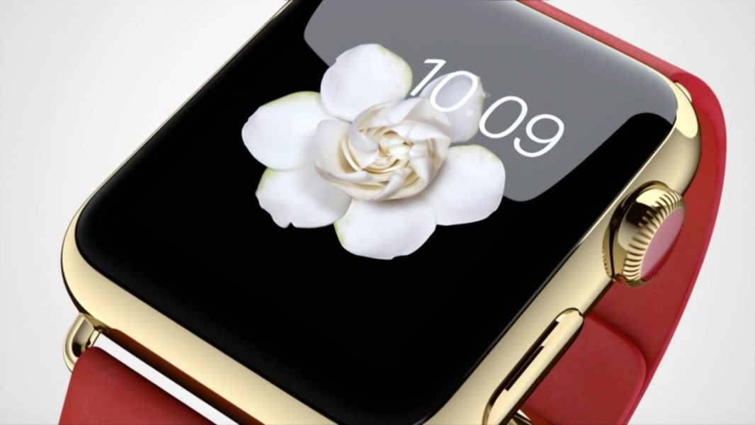 apple watch edition rouge