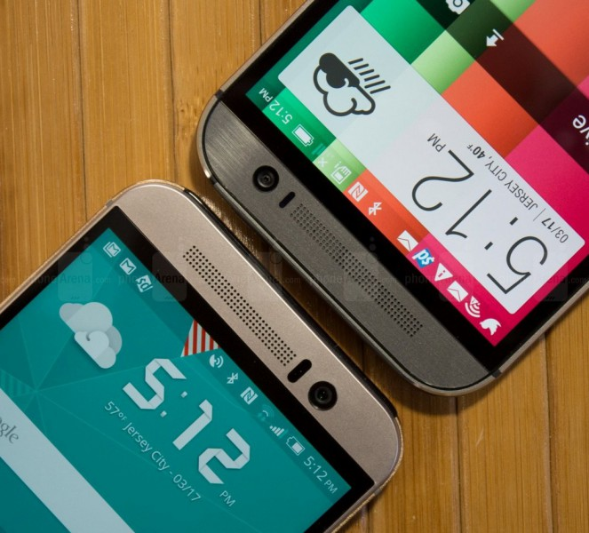 htc one m9 vs m8 haut