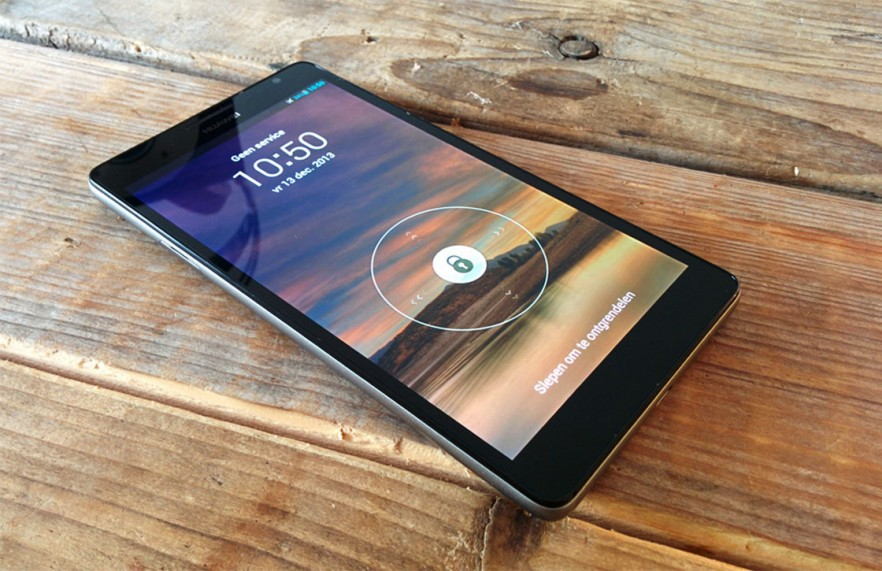 huawei ascend mate 7 sur table