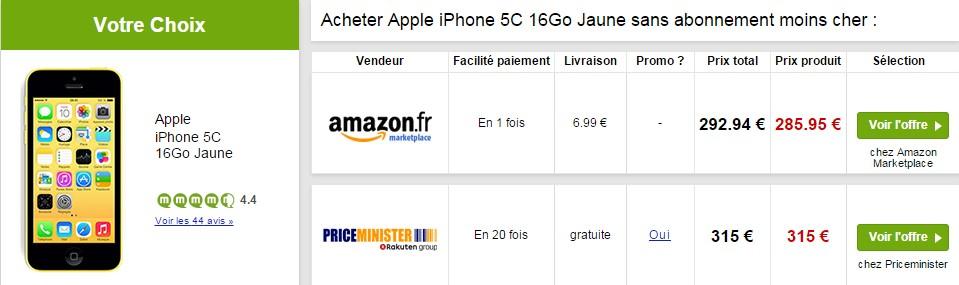 iphone 5c amazon