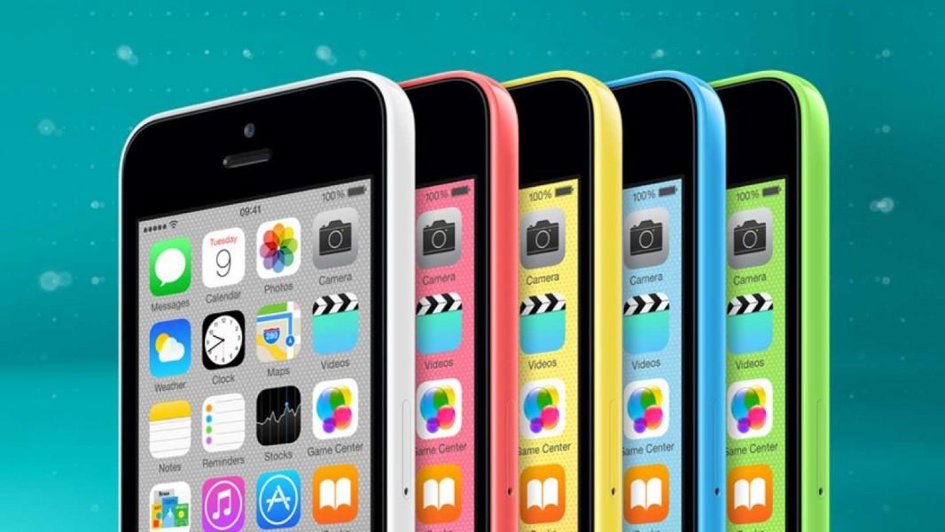 iphone 5c coloris