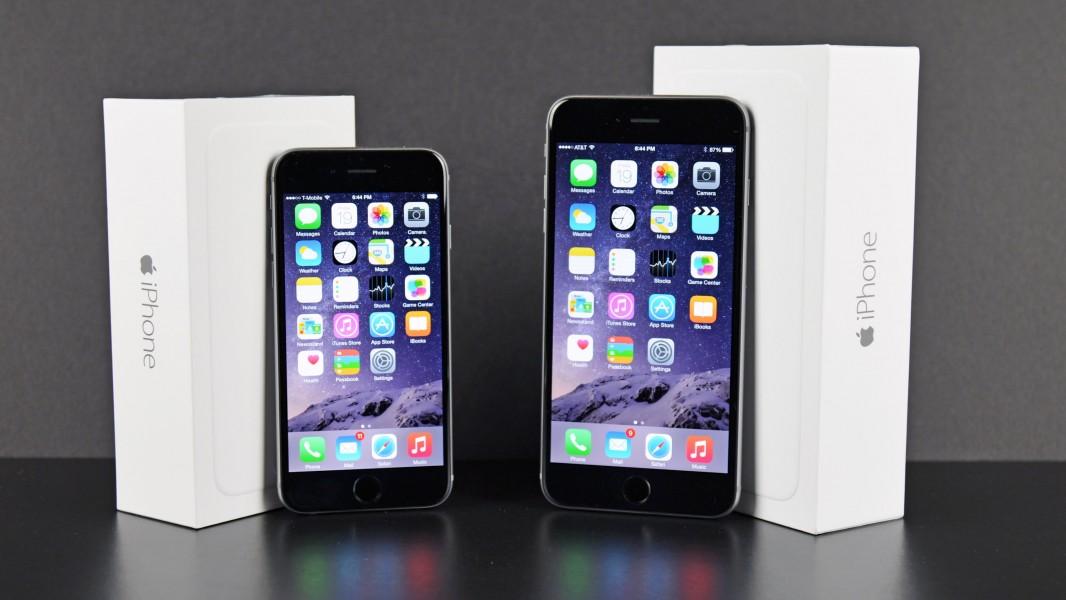 iphone 6 plus et iphone 56
