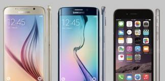iphone 6 samsung galaxy s6 et s6 edge