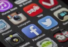 réseaux sociaux icones