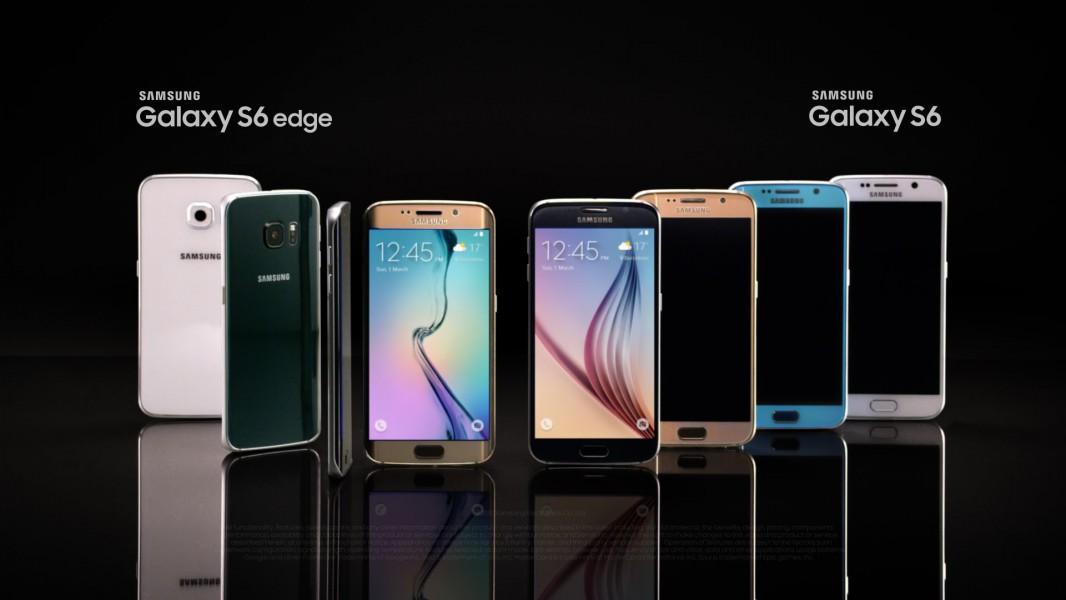 samsung galaxy s6 gamme