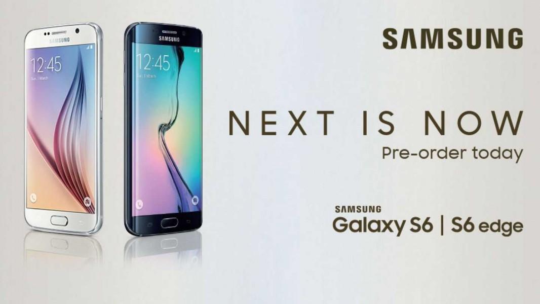 samsung galaxy s6 pré commande