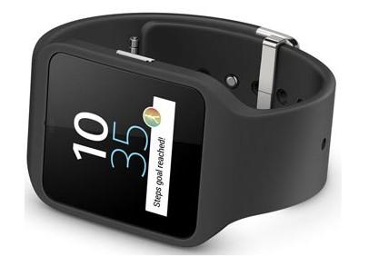sony smartwatch 3 penchée