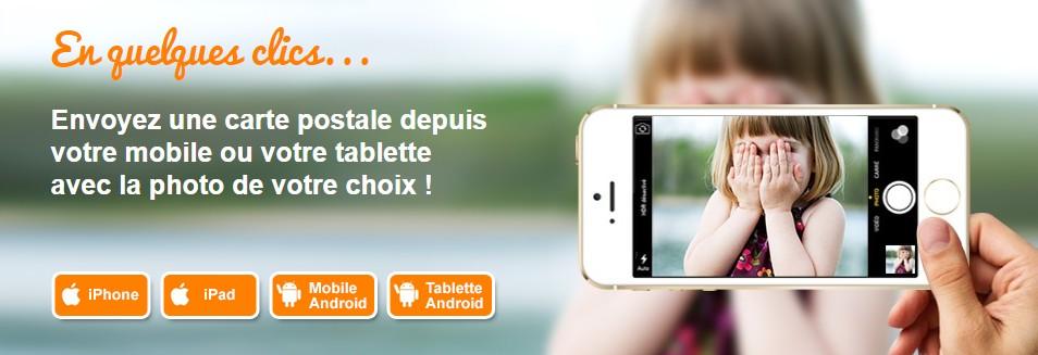 PopCarte , l'application qui transforme vos photos en carte postale - Meilleur Mobile