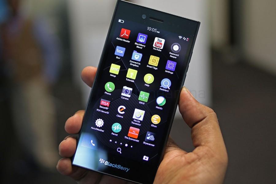 blackberry leap écran