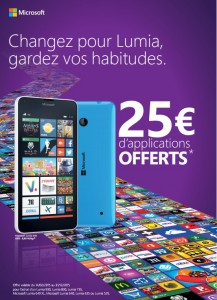 Microsoft multiplie les promotions pour vous faire passer � Windows Phone