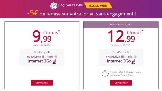 Le forfait Virgin Mobile, 3Go en 4G en promotion !