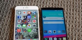 LG G4 iphone 6 plus écran