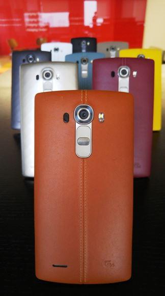 LG G4 coque en cuir